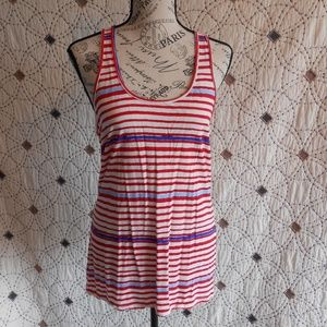 3/$10 EUC Old Navy Red White & Blue Tank Top M